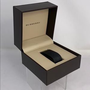 Burberry Brown Leather Watch Jewelry Box